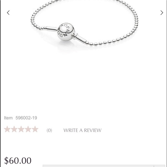 1154b9d4b Pandora Jewelry | Essence Sterling Silver Beaded Bracelet | Poshmark